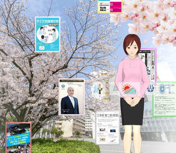 桜が舞う校舎_背景変更
