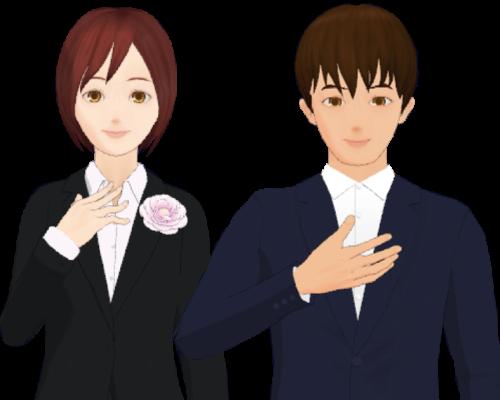 メイ&タクミ_スーツ