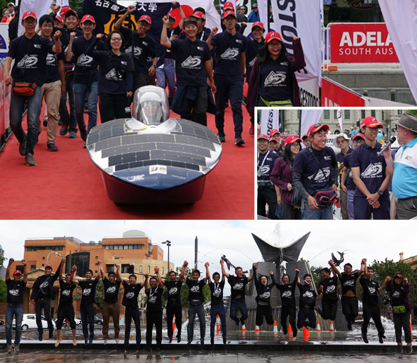 Bridgestone World Solar Challenge 2019 ベスト8