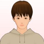 タクミ_パーカー(正面_背景有)